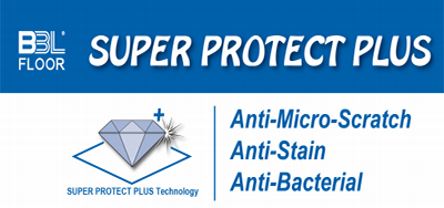 Super Protect Plus: Scratch,scuff and stain resistance